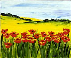A field of poppies by one of Atlas's most popular artists, JalinePol.  Visit our gallery at 900 N Michigan Ave in Chicago to view a spectacular collection of her paintings & prints.