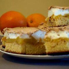 Habos őszibarack sütemény