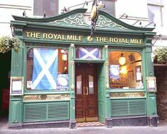 The Royal Mile 127 High Street Royal Mile The Royal Mile Tavern is yet another traditional establishment along this famous route. Popular with tourists and locals it has a cosy interior and reputation for being reasonably priced. Food served. Live music.  Only a short walk from Craigwell Cottage www.2edinburgh.co.uk