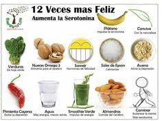 Alimentos que aumentan la serotonina