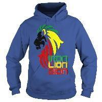 Reggae music Rastafarian Iron Lion Zion 2 side print