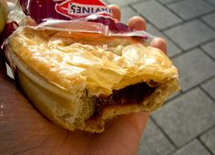 Meat pies. The New Zealand equivalent of a taquito--grab a hot one from the gas station if you're in a hurry.