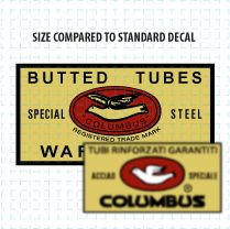 Oversize decal from the '60s or '70s. [Repro graphic]