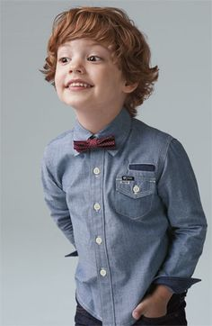 Great for a wedding or holiday event Sovereign Code Shirt & Joe's Jeans (Toddler) #nordstrom