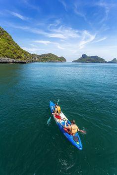 Canoeing in Koh Samui - Thailand