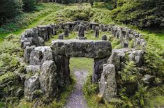 Druid's temple Photo by George Hodan -- National Geographic Your Shot. Druids Temple is a folly created by William Danby in 1820 in North Yorkshire, England. North Yorkshire, Yorkshire England, Yorkshire Dales, Ancient Ruins, Ancient Egypt, Places To See, Beautiful Places, Around The Worlds, History