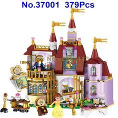 37001 379ピース王女bellaエンチャント城友人女の子leleビルディングブロック互換41067レンガのおもちゃ