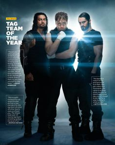 These were the good days when they were with each other and not against each other i still Believe in The Shield no matter what <3<3<3