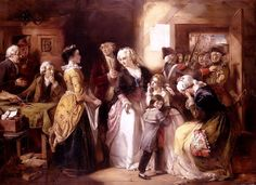 Arrest of Louis XVI and his family at Varennnes, 1791. Artist unknown.