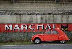 Marchal...  Publicité Marchal, Gueux, circuit de Reims