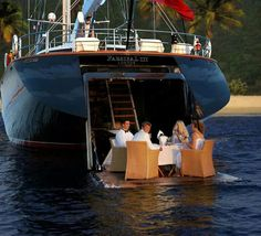Luxury yacht design interior trip sailing and having private party on super mega boat life style for vacation and wedding on deck with style ond model of black and etc Yacht Design, Yacht Builders, Buy A Boat, Assurance Auto, Boat Names, Yacht Interior, Yacht Boat, Sailing Boat, Luxury Yachts