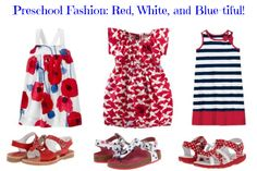 Red, white and blue fashion for your preschooler