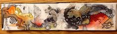 Deb Weiers - Gargoyle Collage, Art Journal Inspiration, Archetypes, Journal Pages, Art Journals, Sketchbooks, Mixed Media Art, Masters, Journaling