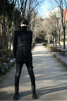 Dicen que el negro adelgaza. Esta es la prueba. Woah *-* Really skinny boy (thinspiration)    Ulzzang    Park Hyung Seok