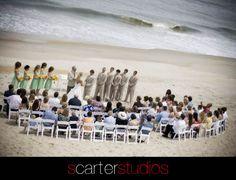 ocean side ceremony