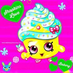 Shopkins Series 1-137 Cupcake Queen Shopkins Bakery Playset Unboxing Video: http://youtu.be/EyvwKCrMWsk www.hellohappysurprise.com