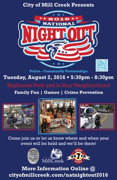 national night out flyer template National Night Out Block Party Invite | Pinterest | Carnival parties