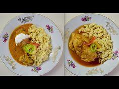 Csirkepörkölt és csirkepaprikás galuskával - Az én alapszakácskönyvem - YouTube Youtube, Grains, Food, Eten, Seeds, Meals, Korn, Diet