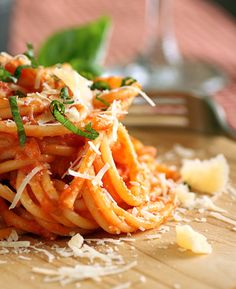 There's a Newf in My Soup!: Pasta al Pomodoro - A Pasta for the Rest of My Life