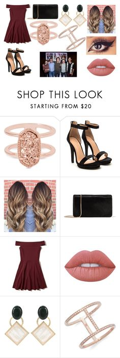"""Teen Wolf Final Party"" by liligrierreakendunbarstilinski on Polyvore featuring mode, Kendra Scott, Diane Von Furstenberg, Hollister Co., Lime Crime, Episode, Marni et EF Collection"