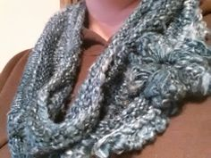 Knitted Silk Hankie Cowl with Crocheted Flower GoFundMe Dashboard