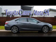 New 2016 Toyota Camry Atara SX ~ {Review}