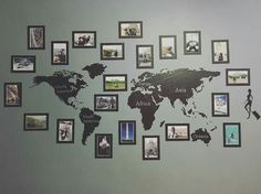 Wall of travel Wall of travel The post Wall of travel appeared first on Fotowand ideen. Living Room Decor, Bedroom Decor, Living Rooms, Travel Bedroom, Travel Wall Decor, Inspired Homes, Diy Home Decor, Projects, Inspiration