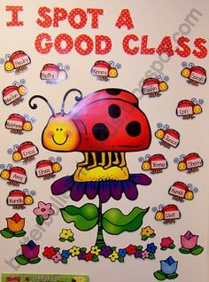 A fun way to encourage the class in Spring!