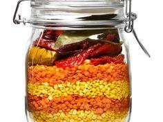 Housewarming recipes in a jar