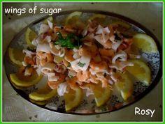 insalata di calamari e gamberetti squid and shrimp salad