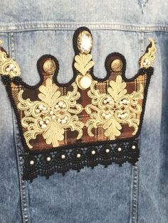 #coroa #bordado  #costumized