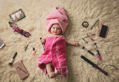 Over 40 cool baby photos ideas for a creative photo shoot - baby photos ideas photoshoot ideas creative funny baby pictures chick - Funny Baby Pictures, Baby Girl Pictures, Newborn Pictures, 6 Month Baby Picture Ideas, Adorable Pictures, Family Pictures, Beautiful Pictures, So Cute Baby, Baby Shooting