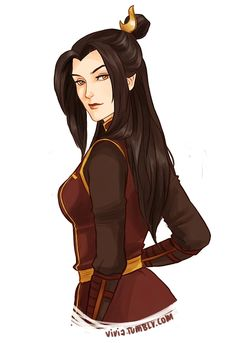 zukos daughter did he have one? Was it in a comic?: << I thought this was a fanart of Azula🤔 But anyways yes he did have a daughter named Izumi. She takes part in an episode of Legend of Korra. Avatar Aang, Avatar Airbender, Team Avatar, Fan Art Avatar, Avatar Series, Iroh, Korrasami, The Legend Of Korra, Drawing Tips