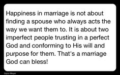 Happiness Marriage