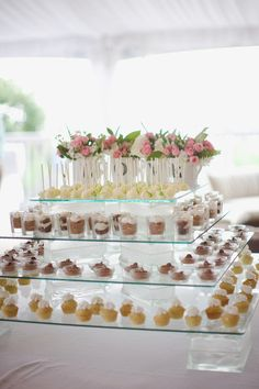 New Ideas for wedding food display mini desserts Mini Desserts, Wedding Desserts, Wedding Cakes, Wedding Decorations, Passover Desserts, Small Desserts, Unique Desserts, Chocolate Desserts, Easy Desserts