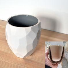 Modern ceramic thermo tea cup via studioLORIER