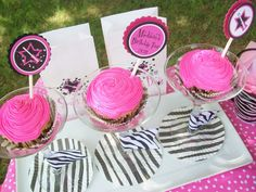 Rockstar Birthday Cupcake Toppers Set of 12NOT by ThePartyBakery, $10.00