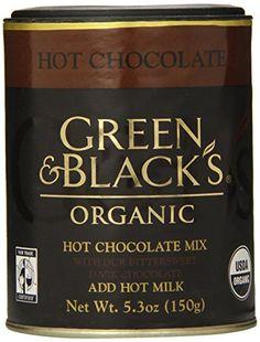 Green & Black�s: Organic Hot Chocolate Mix (1 x 5.3 oz) - http://bestchocolateshop.com/green-black%ef%bf%bds-organic-hot-chocolate-mix-1-x-5-3-oz/