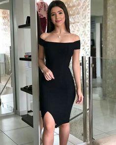 Fashion Tips 2018 .Fashion Tips 2018 Tight Dresses, Short Dresses, Elegantes Outfit Frau, Black Dress Outfits, Dress Up, Bodycon Dress, Formal Evening Dresses, Homecoming Dresses, Pretty Dresses