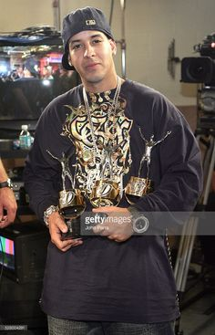 Daddy Yankee (Backstage) during 2005 Premios Juventud Awards - Pressroom and Backstage at University of Miami Convocation Center in Miami, Florida, United States.
