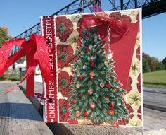 #christmasminialbum #photoalbum #bragbook by https://neldascrafts.etsy.com