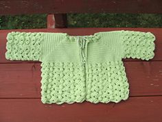Ravelry: Crochet Baby Set #103 pattern by Nell Armstrong... Free pattern!