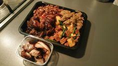 Nasi rames speciaal + babi pangang