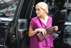 Ashley Olsen in The Row.  Tommy Ton's Favorite Snaps From the CFDA Fashion Awards