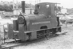 picture of 0-4-0T Morrison & Mason 3ft gauge contractor's locomotive No.5 at Bo'ness