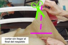 Cómo tapizar una silla, paso a paso - LA NACION Recycled Furniture, Furniture Restoration, Scrapbook Albums, Recycling, Projects To Try, Diy, Design, Upholstery, Modern Lamps