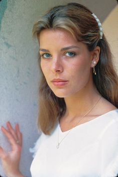 Young Princess Caroline of Monaco