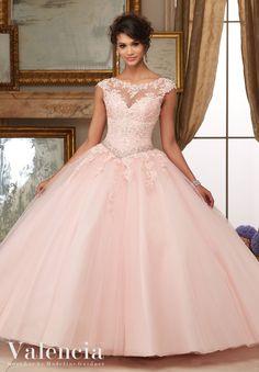 Mori Lee Valencia Quinceanera Dress Style 60006
