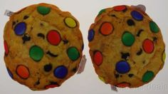 Lot 2 Chocolate Chip Cookie Candy Pillow Food Fight Soft Throw Realistic Toy NEW Candy Pillows, Food Pillows, Pizza Pillow, Novelty Items, Food Themes, Pillow Sale, Chocolate Chip Cookies, Gingerbread Cookies, Toys