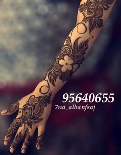 Shaded arm and hand henna flowers Khafif Mehndi Design, Mehndi Designs For Girls, Arabic Henna Designs, Mehndi Designs 2018, Dulhan Mehndi Designs, Mehndi Designs For Fingers, Stylish Mehndi Designs, Mehndi Design Pictures, Beautiful Henna Designs